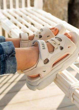 Распродажа детские спортивные босоножки сандалии