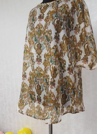 H&m шёлковая блуза