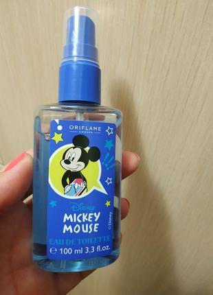 Туалетная вода для мальчика disney микки маус mickey mouse