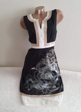 Люксовое роскошное и неповторимое платье rene derhy pp l