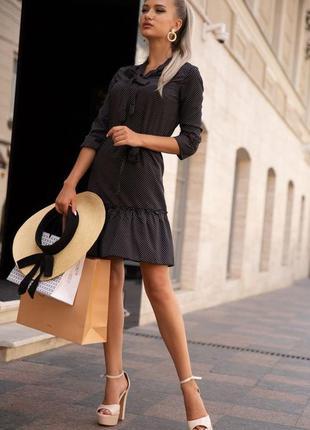Платье женское цвет черный
