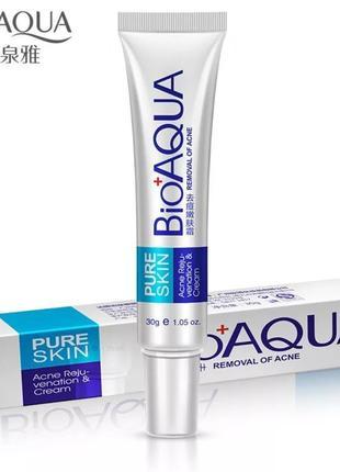 Крем для лица антиакне bioaqua pure skin,30 г.