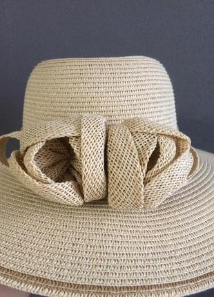 Очень стильная летняя шляпка 👒