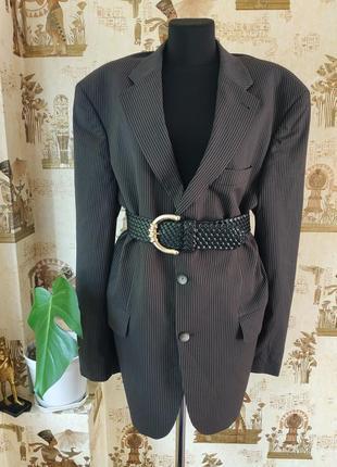 Pierre cardin/оверсайз пиджак с мужского плеча от французского дома моды