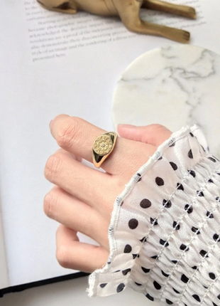 Новое кольцо ring with star