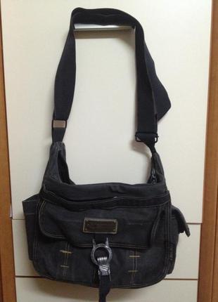 Супервместительная сумка через плечо или сумка на коляску