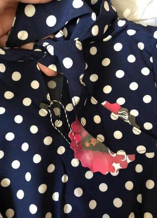 Шикарні шовкові плаття. завжди модний горох. неймовірний фасон3 фото