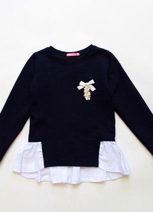 Школьная кофта обманка для девочки ox26-05-2