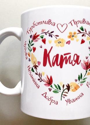 🎁подарок именная чашка