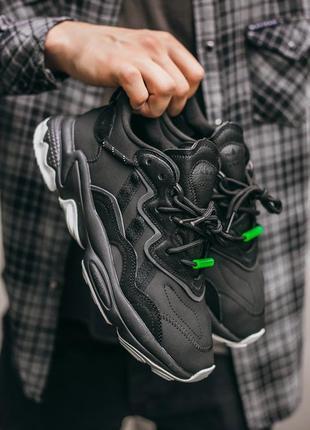 Кросівки adidas ozweego  black кроссовки