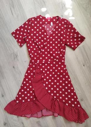 Распродажа! платье в горошек
