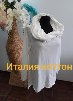Новый свитер блуза италия коттон