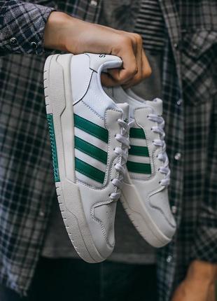 "Кросівки adidas new forum ""white\green"" кроссовки"