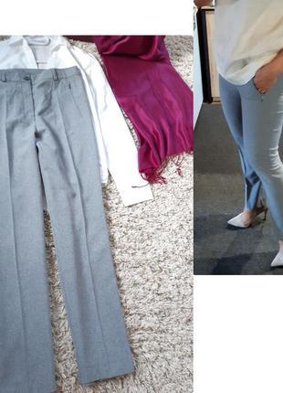 Классические серые брюки, c&a, p. 38