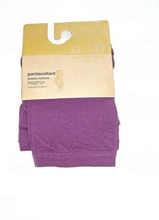 Лосины для девочки 146 см (10-11 years) фиолетовый капрон ovs 59480