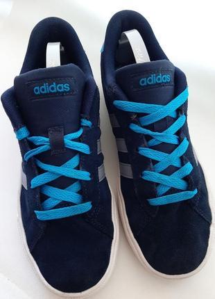 Adidas neo daily оригинальные замшевые кроссовки 2015