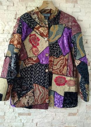 Шикарный стильный удлиненный пиджак! р. 46-48