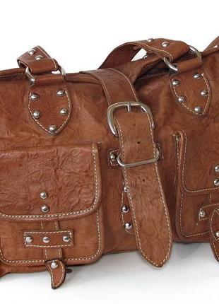 Кожанная сумка olly london