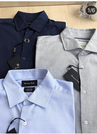 Мужские рубашки massimo dutti 👔🖤