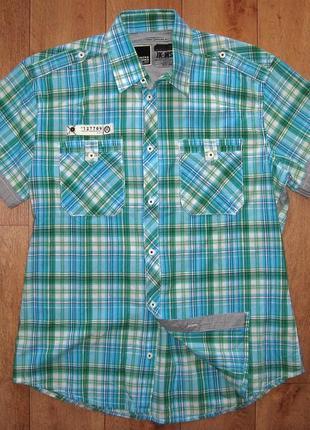 Рубашка мужская,летняя, фирменная jack jones