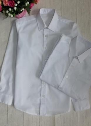 Белые рубашки на 9-10 лет