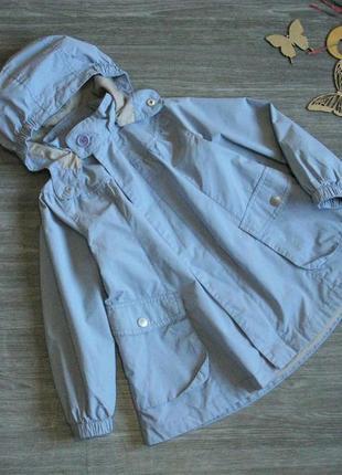 Качественный плащ / куртка на осень для девочки 110