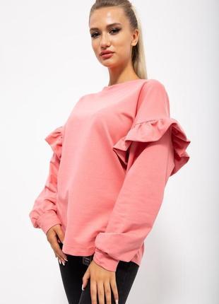 Кофта женская цвет розовый