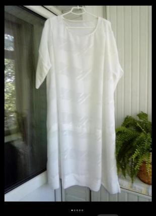 Летняя распродажа!!шифоновое платье туника большого  размера батал 62-68р