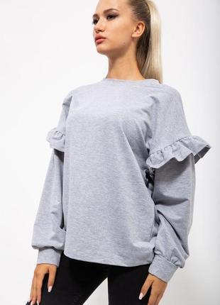 Кофта женская цвет серый
