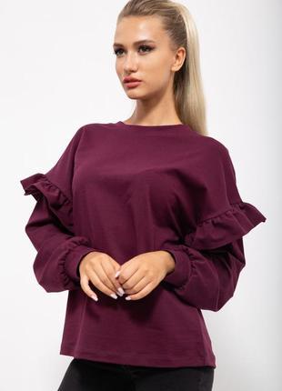 Кофта женская цвет сливовый