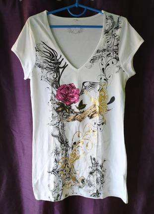 Chicoree хлопковая стильная футболка, р.s