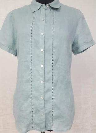 Maddison италия льняная блуза