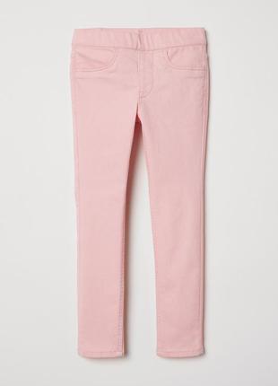 Джегинсы h&m для девочки 098 см (2-3 years) розовый  59989