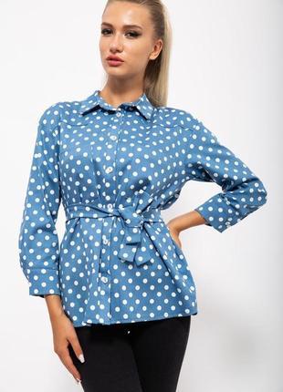 Рубашка женская цвет джинс