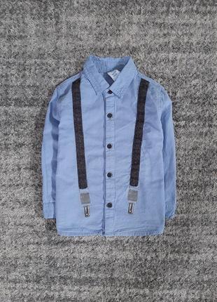 Модная рубашечка на 2 года