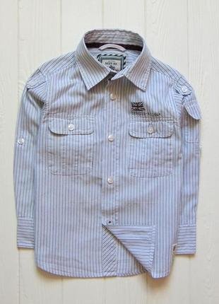 Next. размер 4 года. стильная рубашка для мальчика