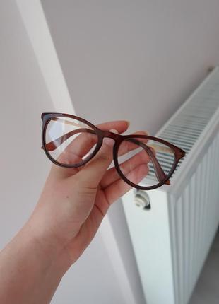 Окуляри з прозорими лінзами очки с прозрачными линзами имиджевые для стиля