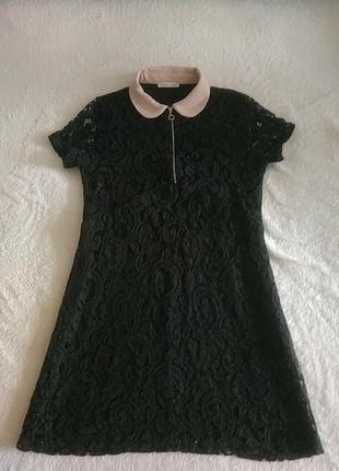Платье ажурное zara