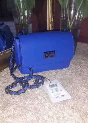 Кожаная мини-сумка