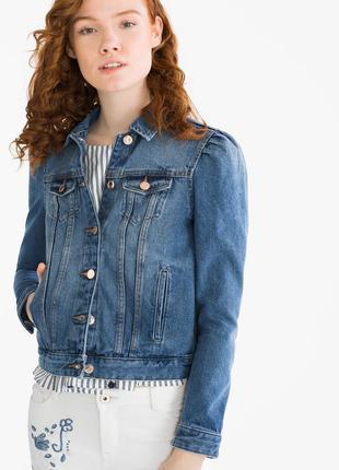 Новый джинсовый пиджак clockhouse