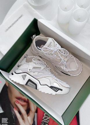 Шикарные кроссовки ck white