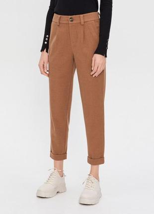 Штаны теплые бежевые брюки house