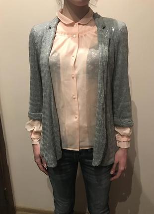 Пиджак в палетках, очень красивый !