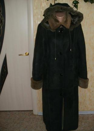 Дублёнка из натуральной кожи с овчиной дублёнка куртка парка пуховик