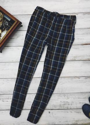 Брюки в плетку. штаны