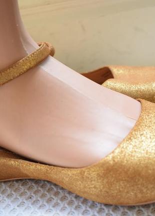 Кожаные туфли балетки лодочки мокасины босоножки camper испания р.40