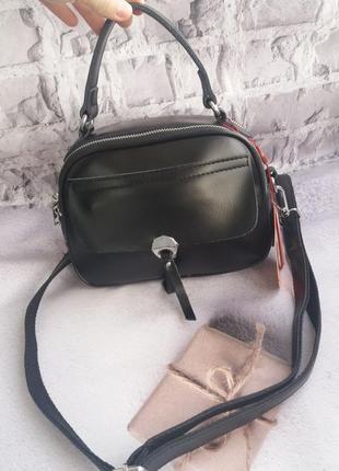 Кожаная женская сумка из натуральной кожи  жіноча шкіряна