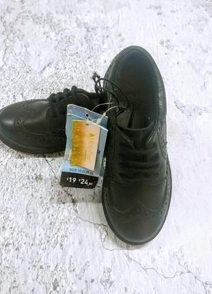 Кожаные туфли броги f&f 28