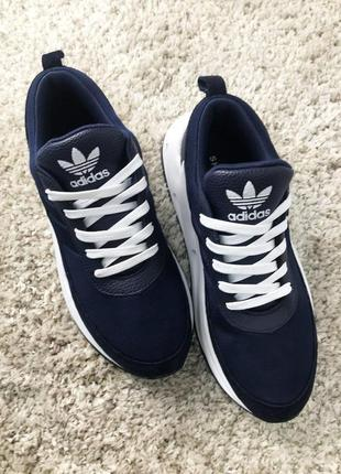 Кроссовки adidas sharks blue white