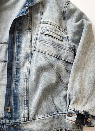 Джинсовая куртка варёнка bell